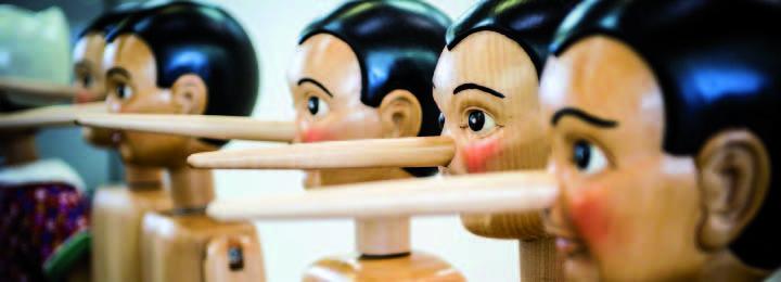 Marionnette Pinnocchio