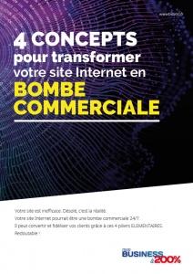 4 concepts pour transformer votre site Internet en meilleur commercial 24-7