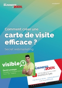 Kit Webmarketing, la carte de visite efficace inédite