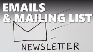 Gestion des emails, mailing list et WordPress
