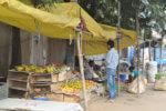 Un marchand de légume en Inde