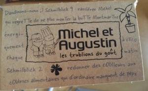 Un emballage Michel et Augustin