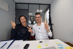 Emmanuelle CAU et David Levesque à AIx en Provence