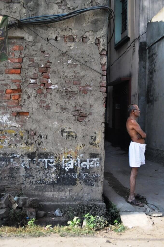 Un indien dans la ville, Calcutta, Janvier 2014