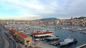 Vieux port, Marseille : Nomad entrepreneur, David Levesque