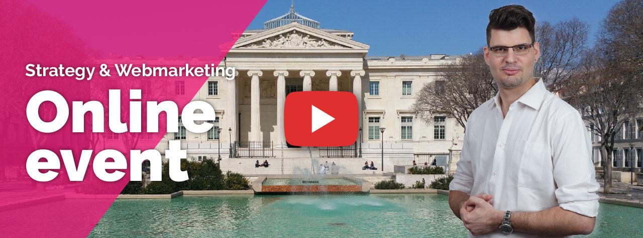 Online event: Webmarketing by David Levesque