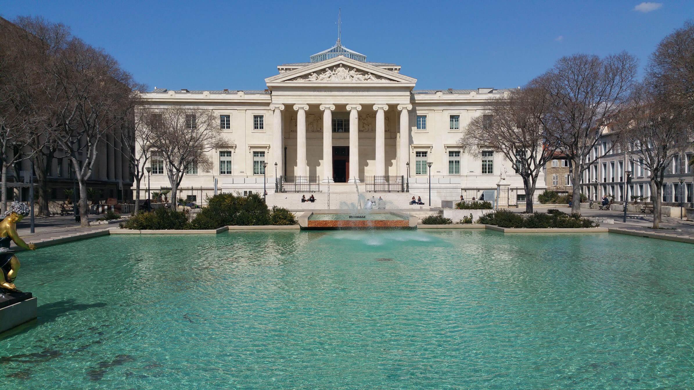 Palais de justice, Marseille : Nomad entrepreneur, David Levesque