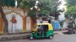 Un temple Hindu proche de mon appartement, Ranchi, Inde