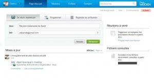 Les réunions collaboratives en ligne avec WebEx de Cisco