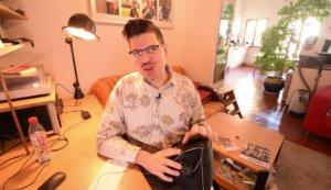 Studio vidéo nomade et léger exemple