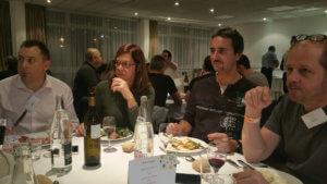 Luc Bernouin, Caroline Herbinger, Ronan Dupuy et notre Didier :)