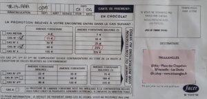 Exemple de flyer créatif pour faire le buzz, par TRIAAANGLES, Aix-en-Provence & Marseille