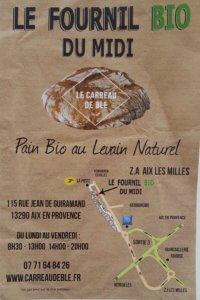 Le carreau de blé, Aix en Provence