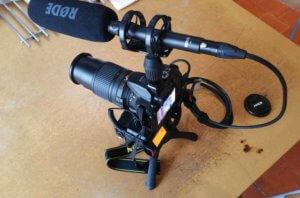 Mon équipement vidéo 100% mobile et autonome pour filmer