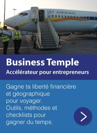 Accélérateur Business Temple pour entrepreneurs indépendants