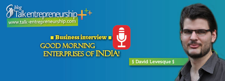 Good morning Enterprises of India ! New podcast