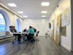 Wide open space office