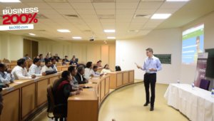 David Levesque speaker at HeadStart, XLRI Jamshedpur