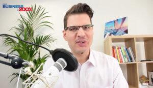 Stratégie marketing Noel, émission Parlons business
