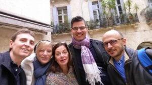 Balade dans Montpellier, avec Caroline Herbinger et Michel Morin