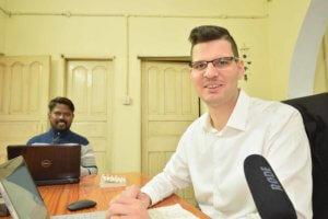 David Levesque et Bhaskar Kachhap, Eurodia synergy en inde